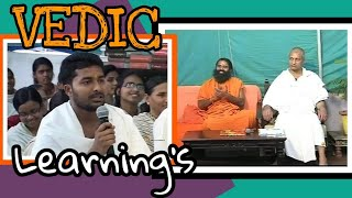 My Debate On TV (Vedic vs Modern Knowledge) विद्यार्थी जीवन में शास्त्रार्थ-2