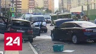 Смотреть видео Смертельное ДТП в Новой Москве: виновник был нетрезв - Россия 24 онлайн
