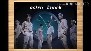 ASTRO - KNOCK (천체 노크) Easy Lyr…