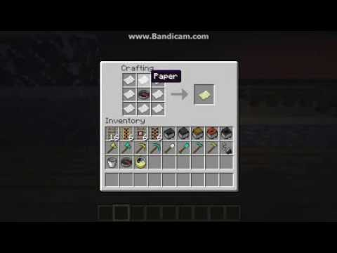 GO 4 Minecraft #44. How to craft an Empty Map   YouTube