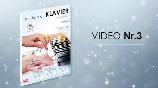 Video Nr.3 - Sinfonie - Ich Lerne... KLAVIER - Christophe Astié - F2M Editions