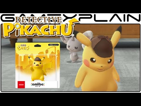 Detective Pikachu Releases Worldwide March 23rd; NEW amiibo Announced!