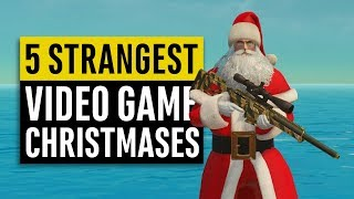 5 Strangest Christmases in Video Games