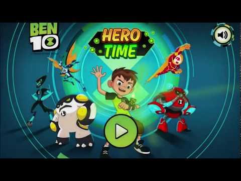 Игра Бен 10: Время Героев - Прохождение всех уровней