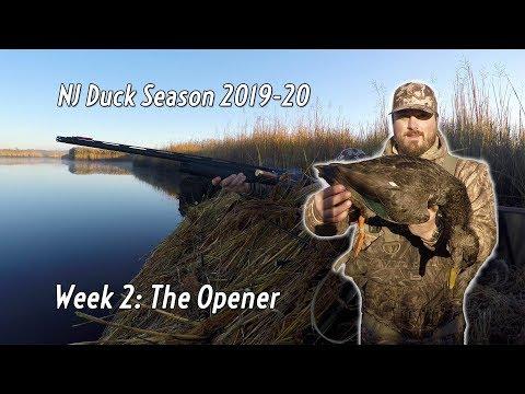 NJ Duck Hunting 2019 Week 2: The Opener