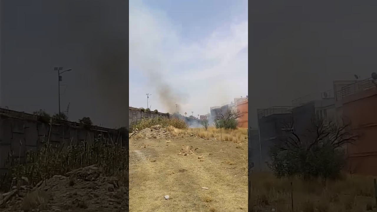 Incendio En Terrazas De Angelopolis 5 Youtube