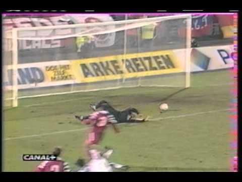 1997 November 25 Twente Enschede Holland 0 Auxerre France 1 UEFA Cup