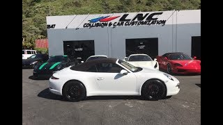 NEW 911 PORSCHE CARRERA 991 IN FOR CUSTOMIZATION LNC  BLACK OUT PACKAGE