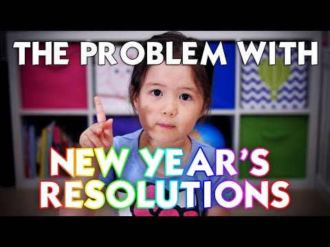 A 4-year old explains the problem with New Year's resolutions