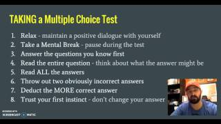 HOW TO TAKE A MULTIPLE CHOICE TEST: Multiple Choice Test Strategies - AP Human Geography - Languages