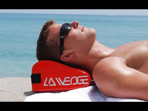 LA Wedge - Beach & Pool Pillow