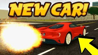 NEW SUPER CAR UPDATE!! 2017 Ford GT In Vehicle Simulator! (Roblox Vehicle Simulator)