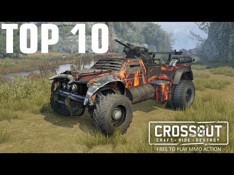 Crossout. Топ 10 крафтов недели. Top 10.