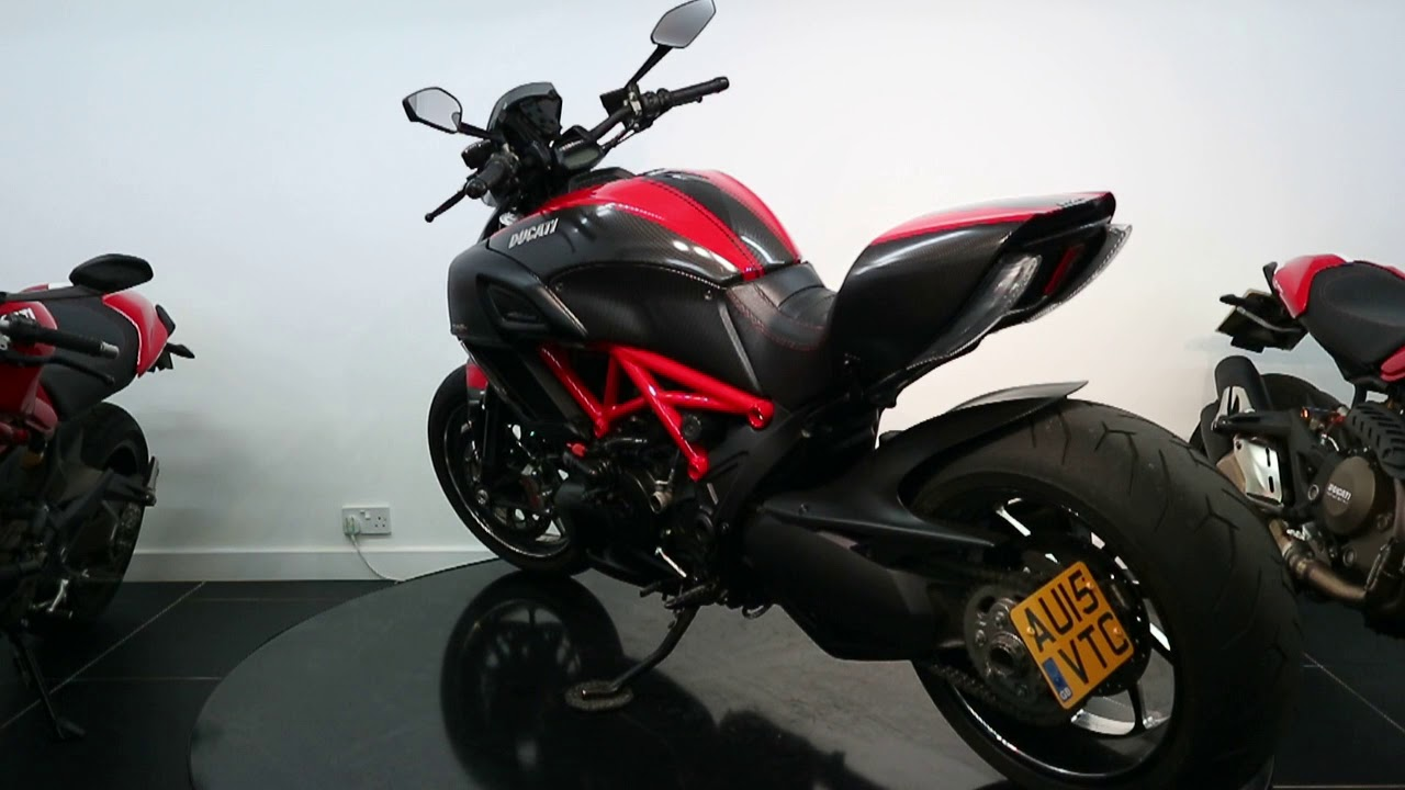 Ducati Diavel Carbon Red For Sale 12 395 St No 5465 Youtube