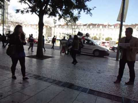 Lisbon News (Greve Geral 27 junho 2013) Rossio@indreni`s films,portugal