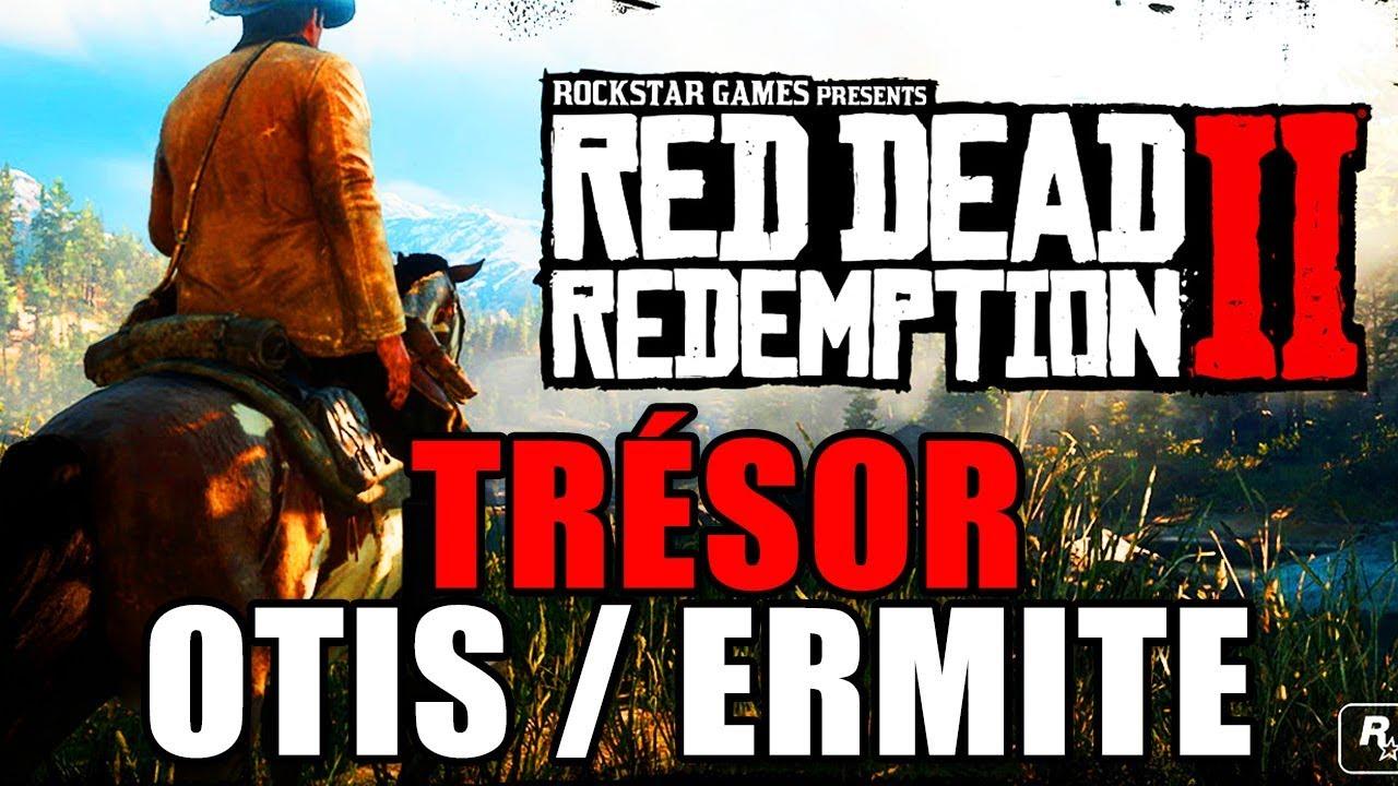Carte Au Tresor Otis Miller.Red Dead Redemption 2 Solution Tresor Ermite Otis Miller Carte