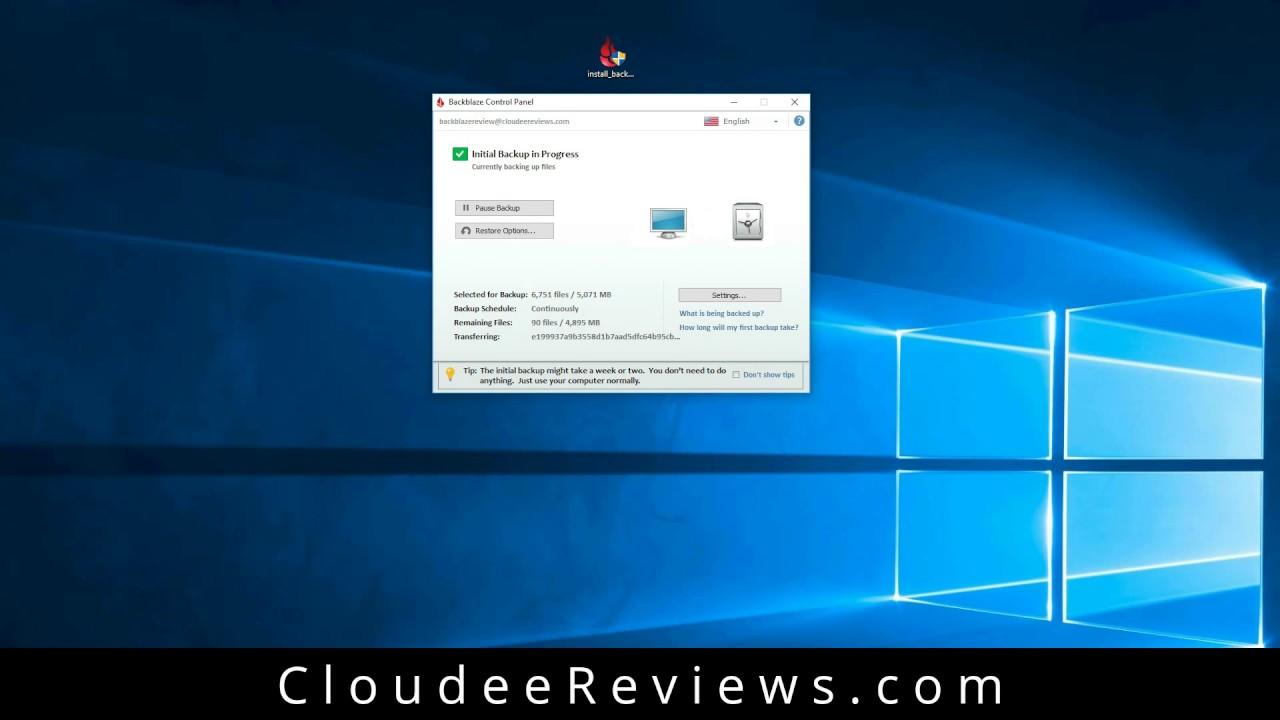 Backblaze Personal Backup Review - September 2019 - Cloudee