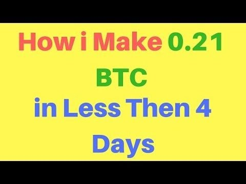 1 BTC Free Earn Daily With Instant Payout 2017 | earn bitcoin