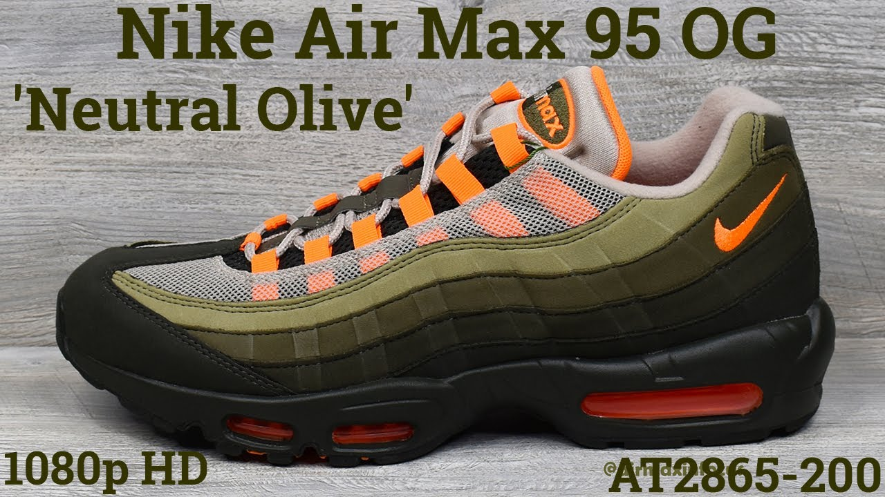 nike air max 95 og olive orange