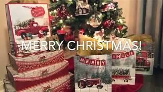 2018 Christmas Home Tour (Rustic Glam) Collab hosted by Daveda Lane