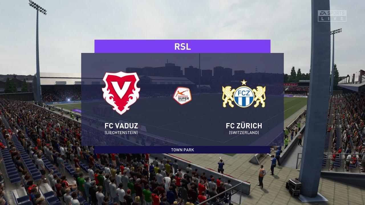 Download FIFA 21 | FC Vaduz vs FC Zurich - Switzerland Super League | 06/02/2021 | 1080p 60FPS
