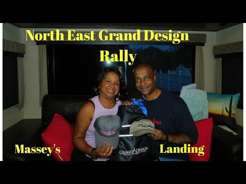 """We attended the North East Grand Design Rally and interviewed Rae & Jason """"Getaway Couple"""""""