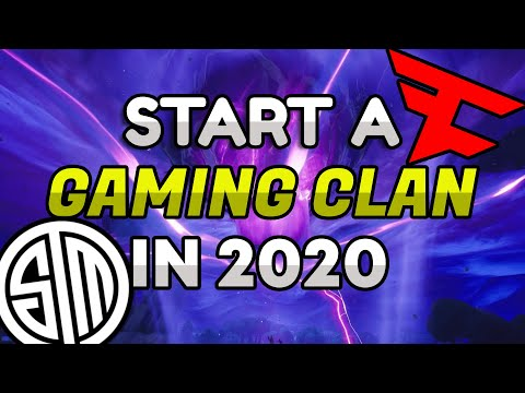 How To Create/Start A Gaming Clan In 2020! | Part 1