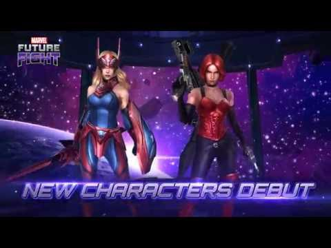 MARVEL Future Fight : Captain America (Sharon Rogers) & Sin Joins The Fight!