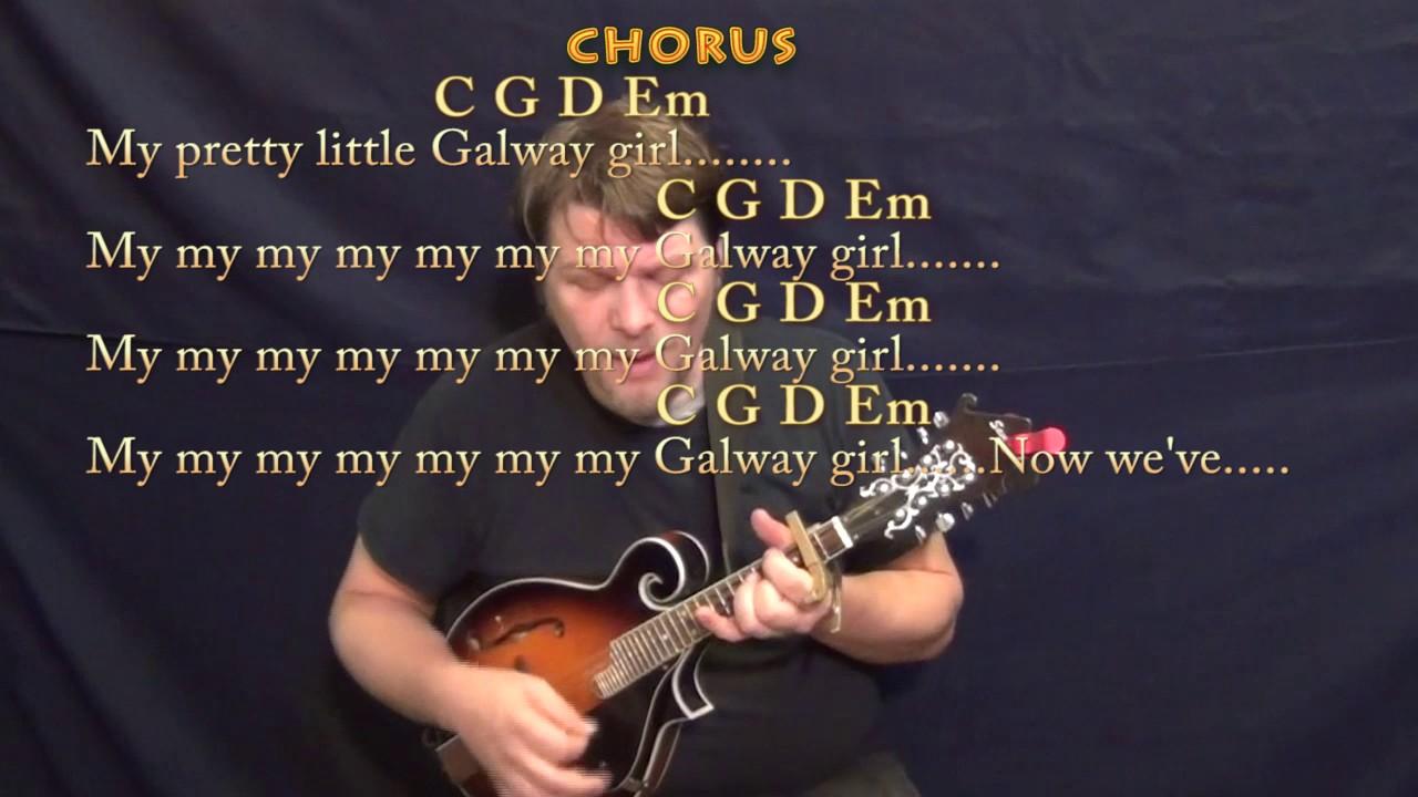 Galway girl ed sheeran mandolin cover lesson with chordslyrics galway girl ed sheeran mandolin cover lesson with chordslyrics capo 2nd hexwebz Images