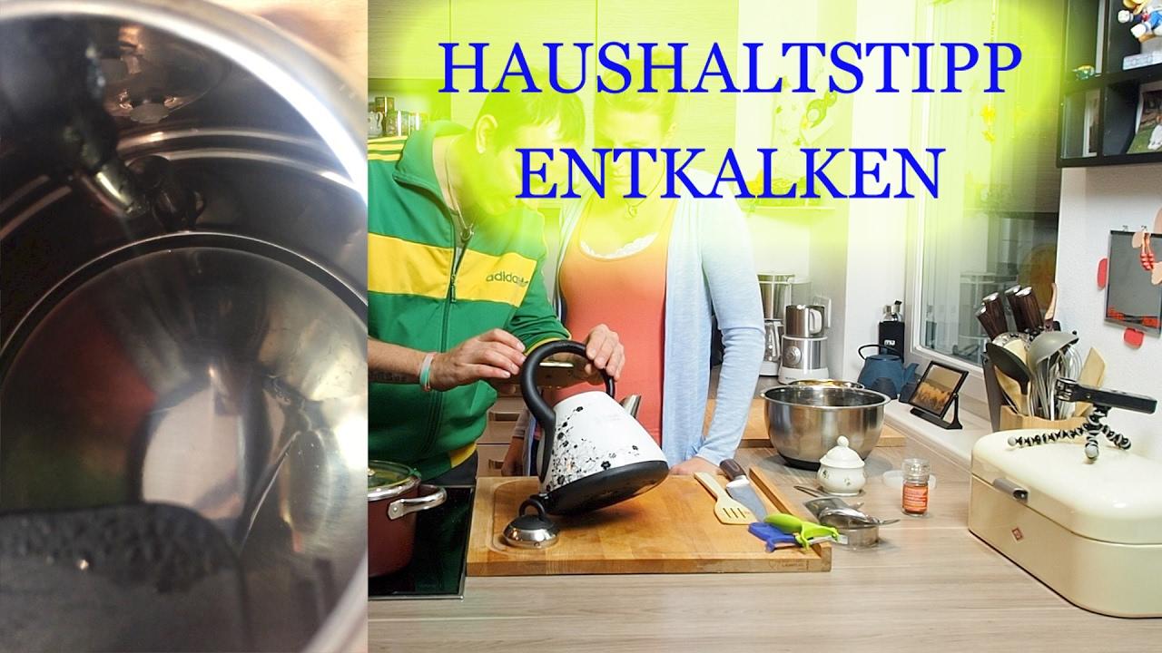 Wasserkocher putzen Supertipp  YouTube ~ Wasserkocher Entkalken Zitronensäure