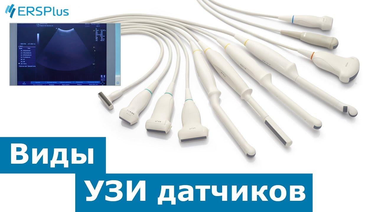 Основные виды УЗИ датчиков.