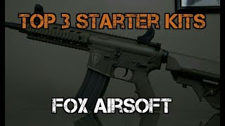 Top 3 Airsoft Starter Kits from Fox Airsoft
