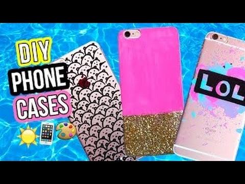EASY DIY PHONE CASES | LaurDIY