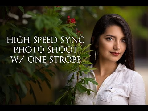 All You Need Is One Light - Canon High Speed Sync (HSS) Photo Shoot w/ the Flashpoint XPLOR 600