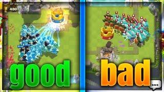 קלאש רויאל - Dart Goblin נגד Electro Wizard עם עידן (Inde Clash - YT)