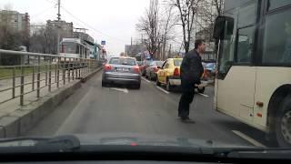 Road rage romania