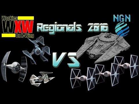 Star Wars X-Wing Miniatures | Maritime Regionals - Game 4: I