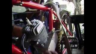 Proceso de ensamble de motor a la Bicicleta
