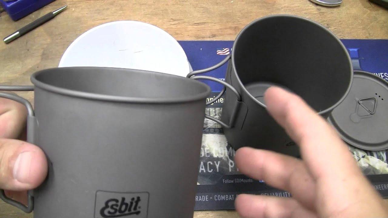 Esbit 750ml Ti Cooking Pot Epic Fail - YouTube 2e5a06d4935ea