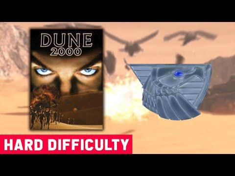 Dune 2000 - Atreides Mission 1 (Bottom Map) - Hard Difficulty - 1920x1080