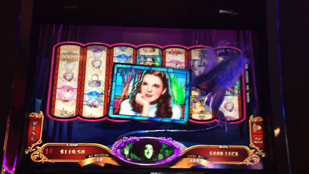 Wizard of oz ruby slippers slot machine youtube