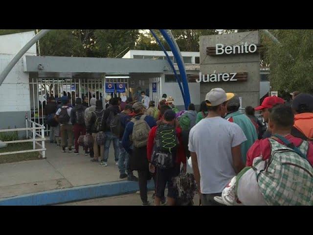 Second migrant caravan arrives in Tijuana