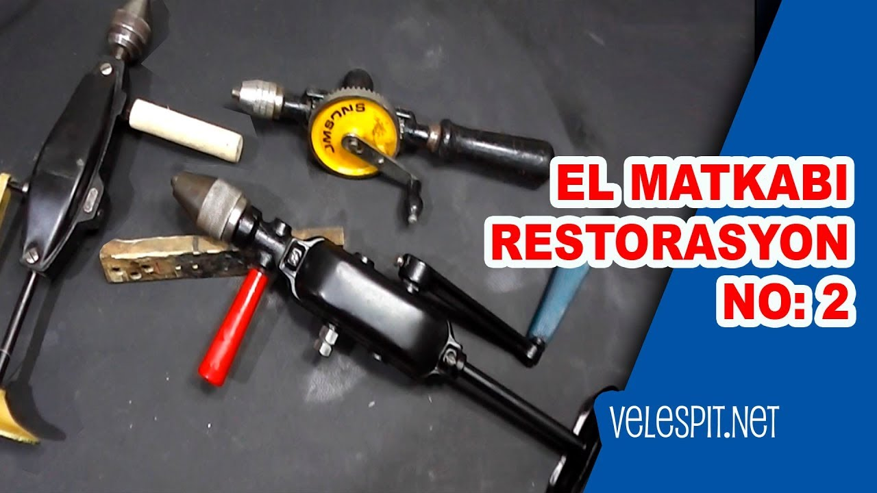 old hand drill restoration 1 2 speed