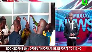 NDC Kingpins Join Ofosu Ampofo As He Reports To CID Headquarters