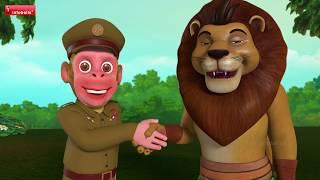 Bandar Mama Jungle Police Song   Bengali Rhymes for Children   Infobells