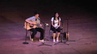 Perhaps That & My Time with You Cover by Kim Mok & Sigmund Ku @ AAA Fashion Show 2010 Masquerade