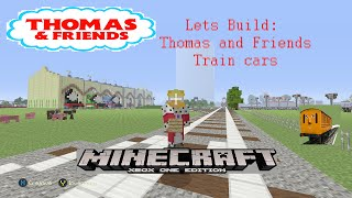 Minecraft Lets Build: Thomas Train Cars  tutorial