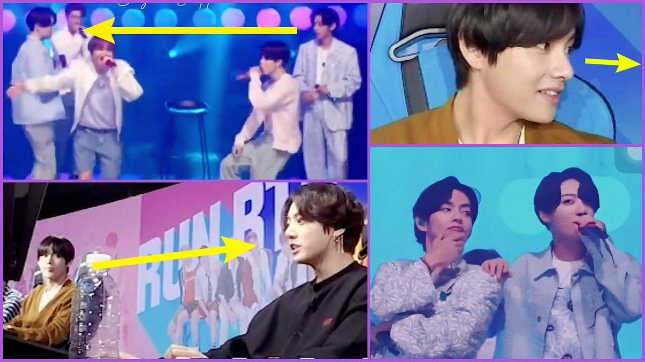 stolen glances and taekook land's comeback | Taekook moments update |