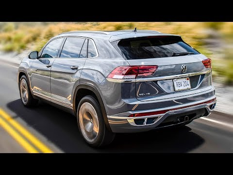 2020 Volkswagen Atlas Cross Sport - American Made Coupe SUV!