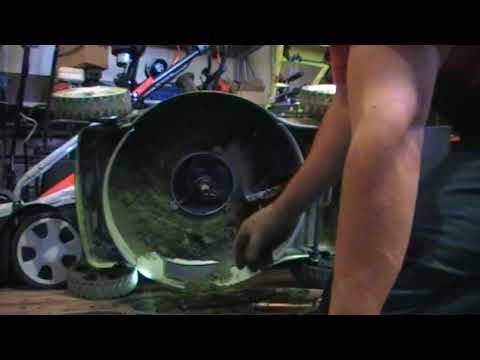 Ремонт газонокосилки своими руками видео